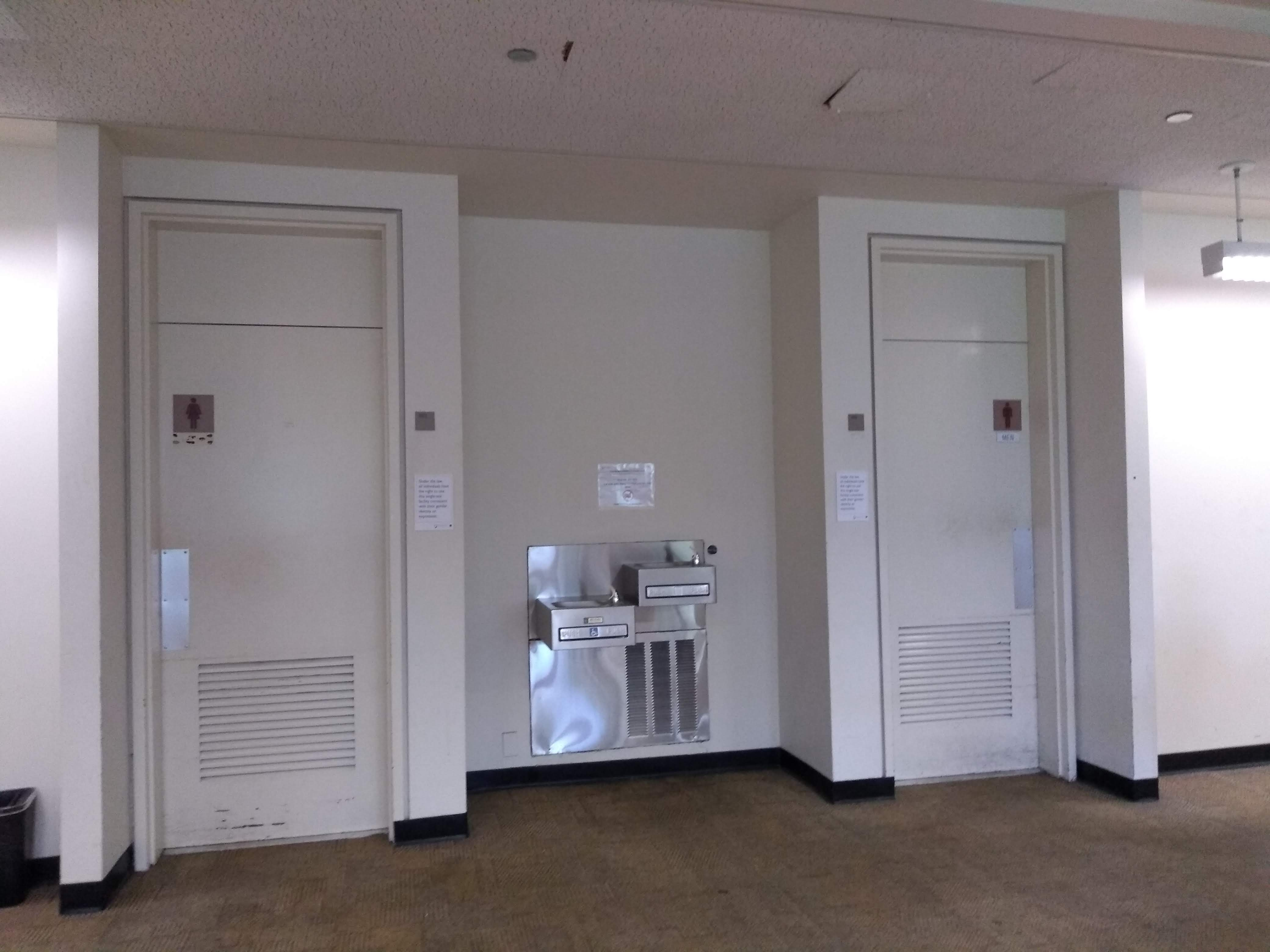 Restrooms, Level 1
