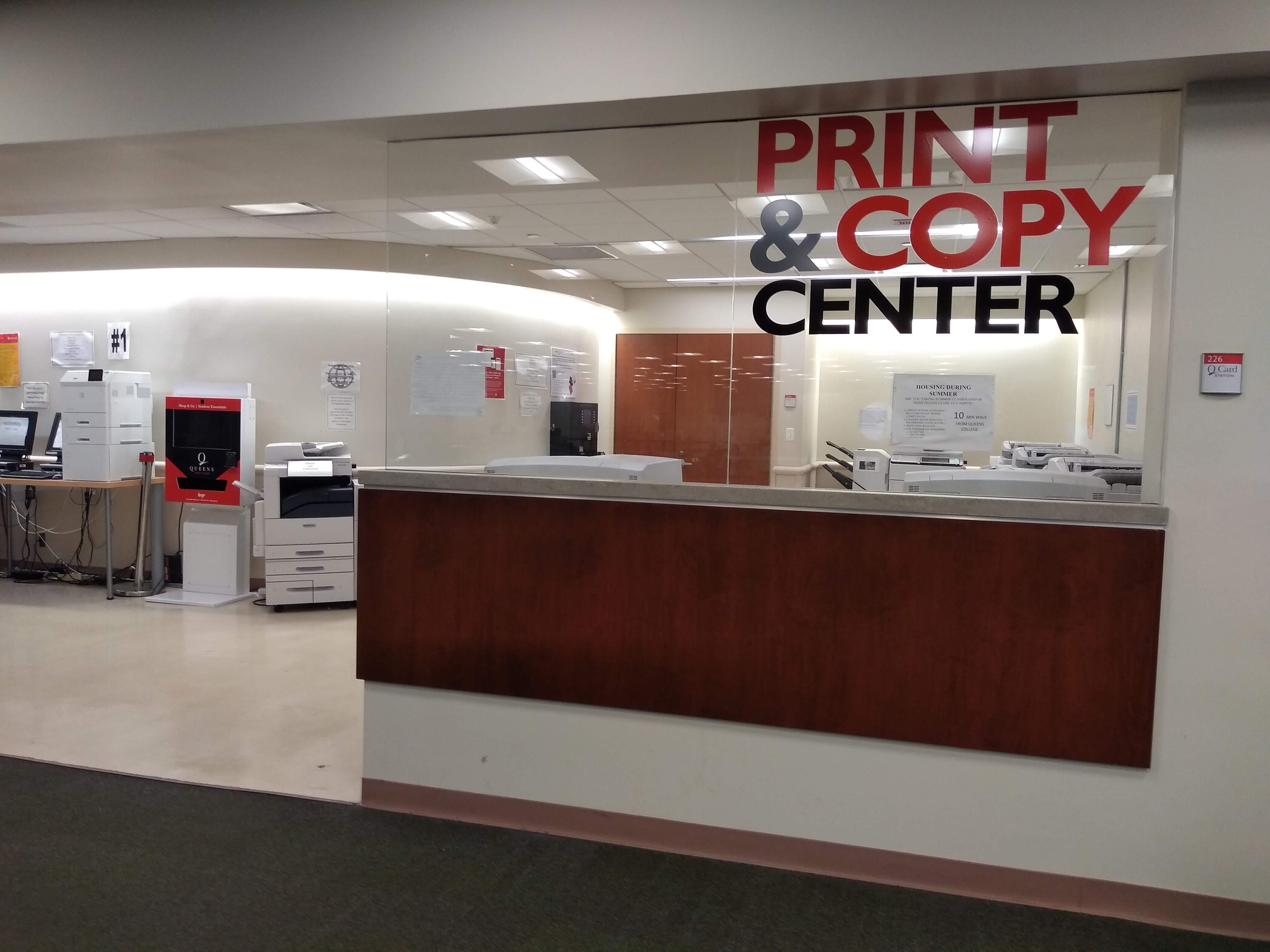 Photocopying & Printing