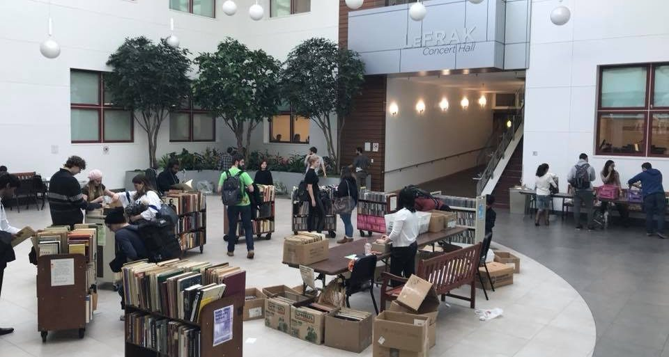 Music Library Book Sale