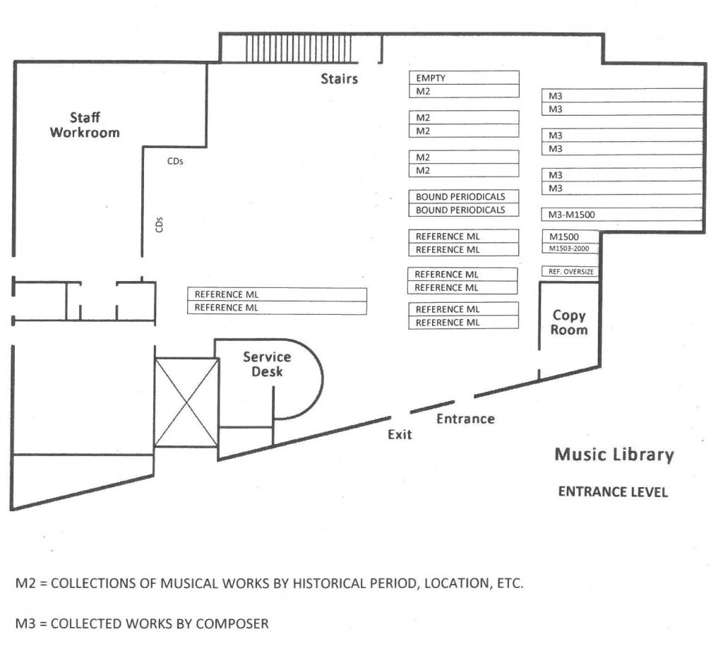 Music Library Maps – Queens College Libraries