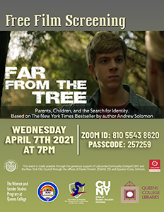 Free Film Screening: Far From The Tree