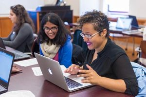 QC Library Hosts Earth Day Wikipedia Edit-a-Thon